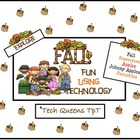 Fall Fun, Apples, & Pumpkins using Technology