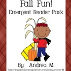 Fall Fun Emergent Reader Pack