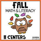 Fall Fun Math and Literacy Work Stations