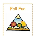 Fall Fun - Songs, Poems and Fingerplays