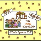 Fall Fun using Technology Freebie