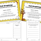 Fall Graphing - Analyzing Data/Creating Bar Graphs (CCSS Aligned)