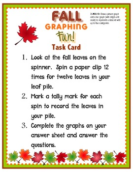 Fall Graphing Fun
