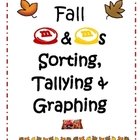 Fall &amp; Halloween M&amp;M Sorting, Tallying &amp; Graphing Center
