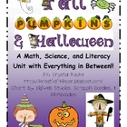 Fall, Halloween, &amp; Pumpkins Centers &amp; Printables Unit