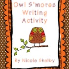 Fall How-To Writing Activity:  Owl S&#039;mores