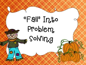 Fall Into Problem Solving