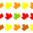 Fall Leaves: Matching &amp; Pattern Practice for preschool &amp; k
