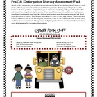Fall Literacy Assessment Pack
