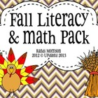 Fall Literacy Unit