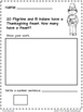 Fall Math Addition Story Problems
