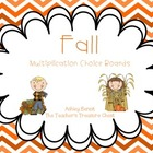 Fall Math Center Packet For Bigger Kids