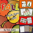 Fall Math Game Pack Bundle