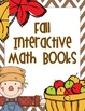 Fall Math Interactive Books