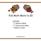Fall Math Mats eBook