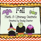 Fall Math and Literacy Centers (Common Core)