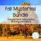 Fall Mysteries Bundle - 3 activities for drawing conclusions
