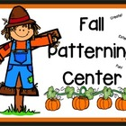 Fall Patterning center