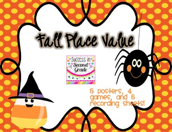 Fall Place Value---Freebie