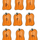 Fall Pumpkin Onset &amp; Rime Short Vowel Game