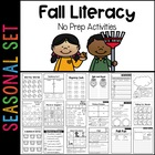 Fall Ready-to-Go Literacy Pack