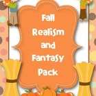 Fall Realism and Fantasy Writing and Activity