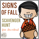 Fall Scavenger Hunt {forms}