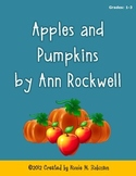 Fall Seasonal Activities for Reading