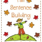 Fall Sentence Building!