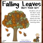 Fall Short Vowel Sort
