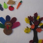 Fall Thanksgiving Felt/Flannel Board Activity Set!