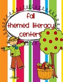 Fall Theme Literacy Centers