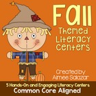 Fall Themed Literacy Centers