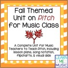 Fall Themed Unit on Pitch for Music Classrooms