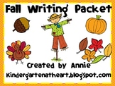 Fall Writing Project