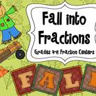 Fall into Fractions: Autumn Themed Fraction Centers 4th an