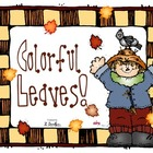 Fall leaf emergent reader