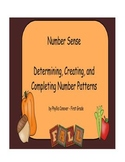 Fall/Autumn Number Sense - Skip Counting/Number Patterns