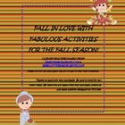 Fall'N, in Love With Fabulous Fall Activities