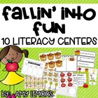 Fallin&#039; Into Fun {10 Literacy Centers}