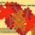 Falling For: Greater Than, Less Than, & Equal To