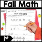 Addition & Subtraction Math Homework for Fall (1st Grade)