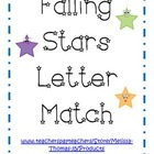 Falling Stars Upper & Lower Case Letter Match Activities