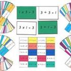 Family Facts - Multiplication/Division cards