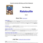 Family Fun Activities with Pixar's Ratatouille