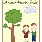Family History Project{All 3 projects offer Enrichment, Se