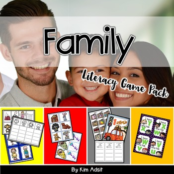 Family Literacy Game Pack