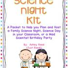 Family Science Night {or Classroom Science Day/Mad Scienti