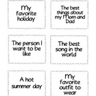 Family Storytelling Cards