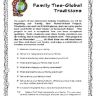 Family Ties Global Traditions